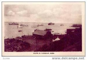 RP Ships in harbour, Aden, Yemen, 00-10s
