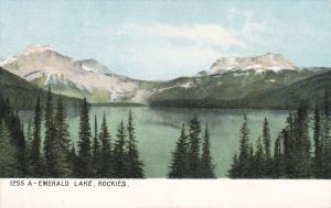 A Emeral Lake, Rockies, British Columbia, Canada, 1900-1910s