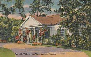 WARM SPRINGS , Georgia , 1945 ; The Little White House