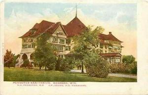 WI, Kenosha, Wisconsin, Pennoyer Sanitarium, E.C. Kropp