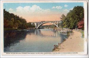OH - Lakewood. Rocky River Bridge, Cleveland Suburb