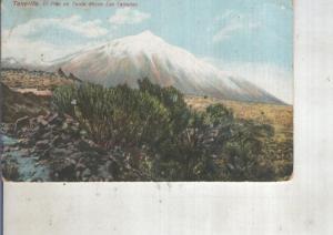 Postal 014055: El Pico del Teide desde Las Ca?das. Tenerife
