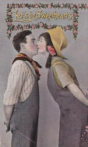 Let's be Sweethearts, Man and woman kissing, 00-10s