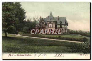 Belgie Belgium Spa Old Postcard Chateau Neubois
