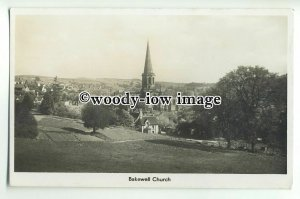 cu1999 - The All Saints' Church and Bakewell Town, in Derbyshire - Postcard