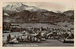 SCHONFELDSPITZE u HOHEN GOLL AUSTRIA~1941 FELDPOST PHOTO POSTCARD