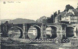 Le Pont Bouillon, Belgium Unused