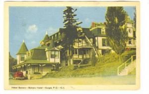 Bakers Hotel, Gaspe, Quebec, Canada, PU