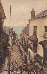 High Street Looking Down, Clovelly (Devon), England, UK, 1900-1910s