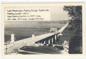 RP,Lake Washington Floating Bridge From Road,Washington,30-50s