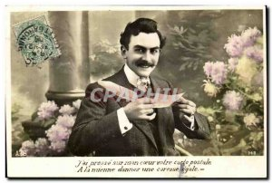 Fantasy - Men - J have press on my heart your postcard A mine give a caress Ega