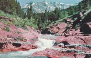Red Rock Canyon , Waterton Lakes National Park , Alberta, Canada , 50-60s