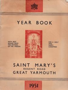 Great Yarmouth Christmas Religious Norfolk 1951 Year Book