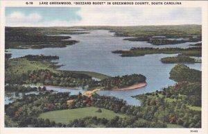 Lake Greenwood Buzzard Roost In Greenwood County South Carolina