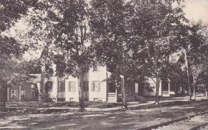 Maine Lewiston Whittier And Milliken Houses Bates College Albertype