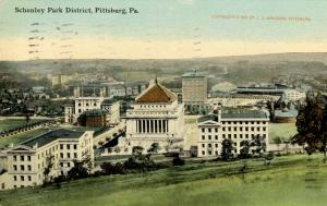PA - Pittsburgh. Schenley Park District, circa 1910