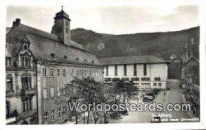 Alte und neue Universitat Heidelberg Germany Unused