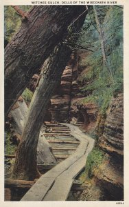 WISCONSIN, 1900-1910's; Witches Gulch, Dells Of The Wisconsin River