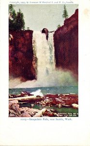 Washington Seattle Snoqualmie Falls 1906