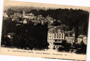 CPA BAGNOLES-de-l'ORNE - lesse-la-madeleine - Vue generale (195216)