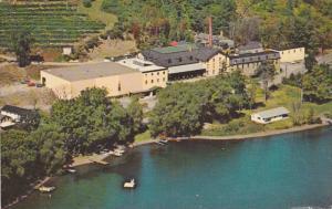 Aerial View of Main Buildings of Gold Seal Vineyards Inc., Keuka Lake, Hammon...