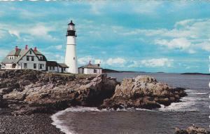 LIGHTHOUSE , 50-60s ; Portland Head Light , Maine #2
