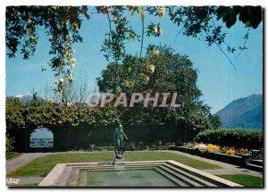 Postcard Modern Brissago Lago di Maggiore Parco Botanico del Ticino Ct