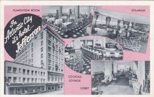 Jefferson Hotel Multi View Atlantic City New Jersey 1953