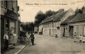 CPA AILLY-sur-NOYE - La Rue Louis Thuillier vers Jumel (515568)