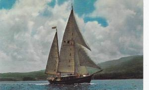 Sailing Vessel, Charter Vessel Ring Anderson, Sails the Leeward and Windwar...