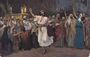 AS: David dancing before the Ark, Robert Leinweber, 00-10s