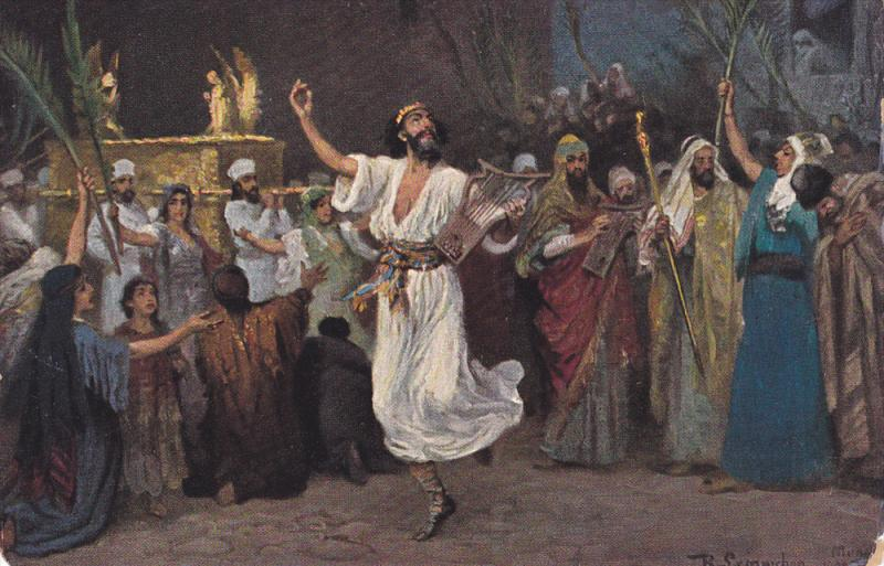 AS: David dancing before the Ark, Robert Leinweber, 00-10s
