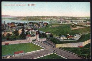 Quebec ~ Harbor from Parliament QUEBEC Vintage 1900s - Divided Back Vintage