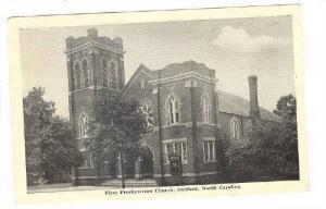 First Presbyterian Church, Sanford, North Carolina, PU-1950