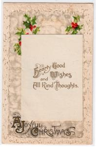 Christmas Card with Flap that Opens by John Winsch