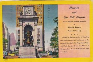 New York City Minerva & The Bell Ringers James Gordon Bennett Memorial Broadw...