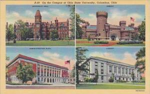 Ohio Columbus On the On The Campus At Ohio State University