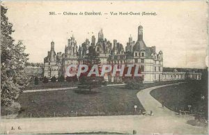 Old Postcard Chateau de Chambord
