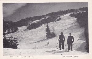 LAC BEAUPORT, Quebec, Canada, 1910-20s; Cote de ski - Mont Saint-Castin