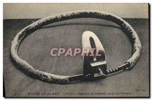 Old Postcard erotic Nude Female chastity belt Musee de Cluny Paris Period of ...