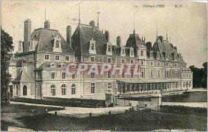 Old Postcard Chateau d'Eu