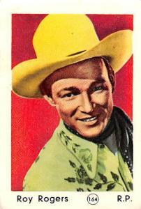 Movie Star Roy Rogers, R.P., cowboy hat costume, actor