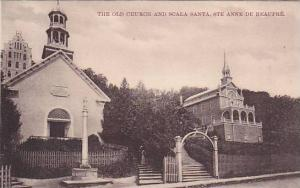 The Old Church and Scala Santa, Ste Anne de Beaupre, Canada, 00-10s