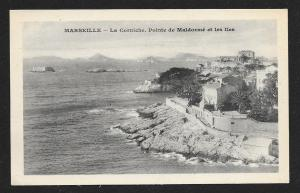 Marseille La Corniche Maldorme France Unused c1920s