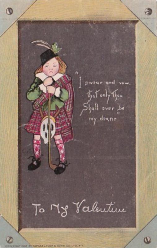 Tucks Valentine Thou Shall Ever Be My Dearie 1907
