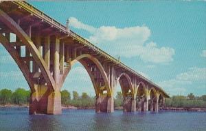 Arkansas Fort Smith Scenic Garrison Avenue Bridge Arkansas River