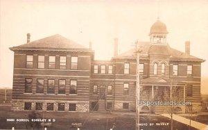 High School in Edgeley, North Dakota