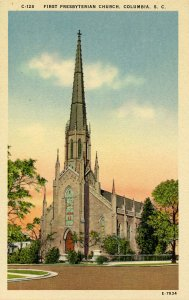 SC - Columbia. First Presbyterian Church