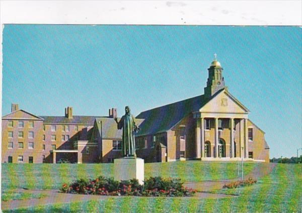 Massachusetts North Andover Christ The Teacher Chapel and Statue Merrimack Co...