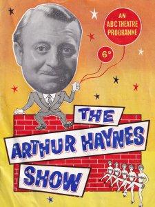 Arthur Haynes Show Great Yarmouth Norfolk 1960s Theatre Programme